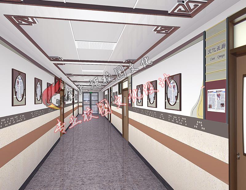 文化走廊—校園文化設計—專業的校園文化建設策劃